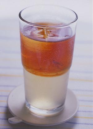アイスレモンゼリーティー
