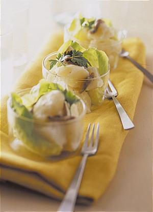 アンチョビー風味のポテトサラダ