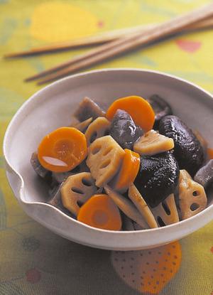 根菜の吹き寄せ煮