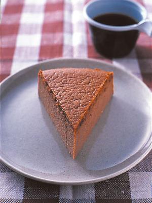 ココアスフレチーズケーキ