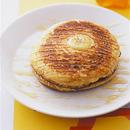 オレンジ風味のバナナパンケーキ