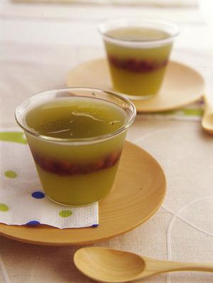 あずき入り緑茶かん
