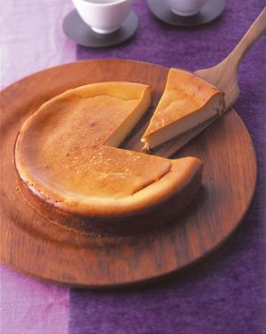 黒糖チーズケーキ