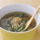 レタスのピリ辛中華スープ
