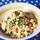 ツナ入り豆サラダ