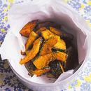 カレー風味の揚げかぼちゃ