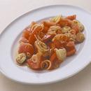 トマトとみょうがの和風マリネ