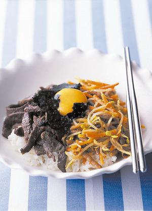 焼き肉ビビンバ