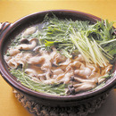 水菜と豚バラの鍋仕立て