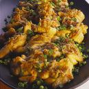 鶏肉の七味みそ焼き