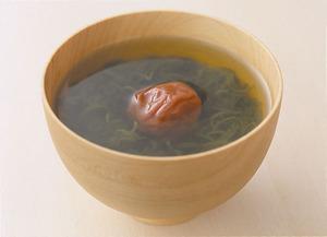 梅めかぶ汁
