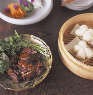 鶏肉の北京ダック風