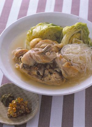 骨つき肉とキャベツのスープ煮