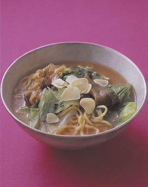 シャキシャキレタス麺