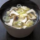 くずし豆腐のすまし汁