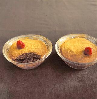 ラズベリーチョコレートムース