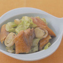 鮭とキャベツのチャンチャン炒め
