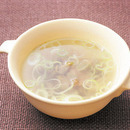 ザー菜とねぎのスープ