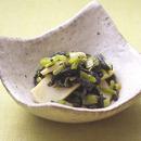小松菜とかまぼこのわさびじょうゆあえ