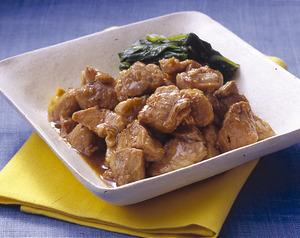豚肉の簡単角煮
