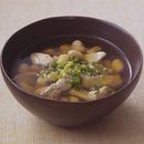 ささ身と大豆のスープ