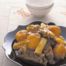 スペアリブとじゃがいもの韓国風煮もの