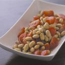 大豆とプチトマトのマリネ