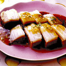 白菜と鶏ひき肉のレンジ蒸し