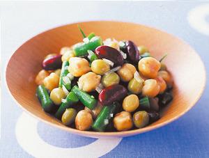 豆といんげんのサラダ