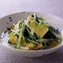 水菜と油揚げのさっと煮