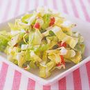 キャベツの梅風味サラダ