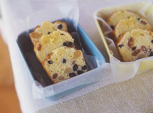三色豆のパウンドケーキ