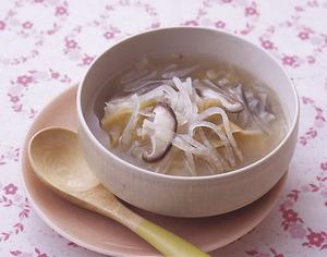 大根のザーサイスープ