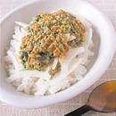 納豆とオクラのジンジャーマヨネーズ丼