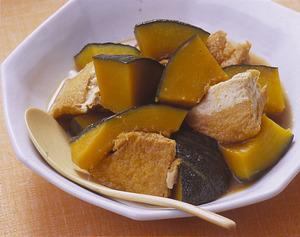 かぼちゃと厚揚げの煮もの