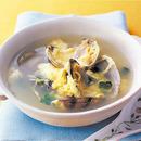 あさりの卵とじスープ