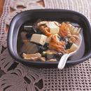 豚肉とキムチのチゲ風スープ
