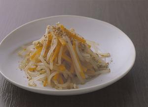 もやしとにんじんの中華風サラダ