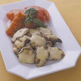 豚ヒレ肉のマスタードチーズ焼き