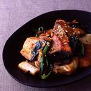 生鮭のスタミナ炒め