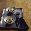 焼き野菜のわさびオリーブしょうゆ丼