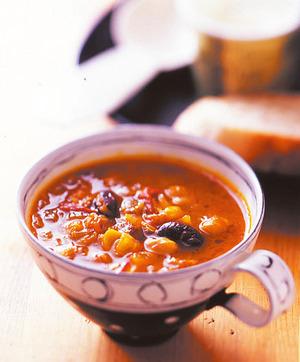 ビーンズカレースープ