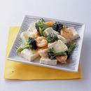豆腐とえびのあっさり炒め煮