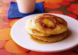豆乳りんごパンケーキ