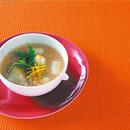 ゆず風味明太スープ