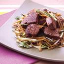 牛肉とごぼうのさっぱり炒め