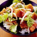 サラダカツ丼