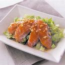 サーモンの中華サラダ
