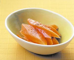 にんじんの山椒風味マリネ