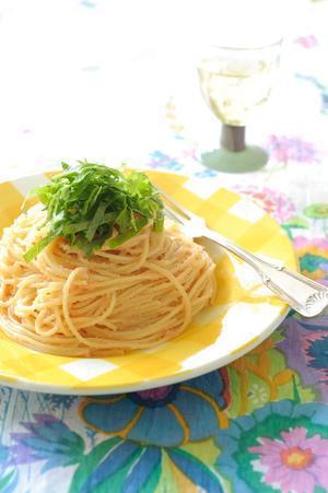明太バタースパゲティ